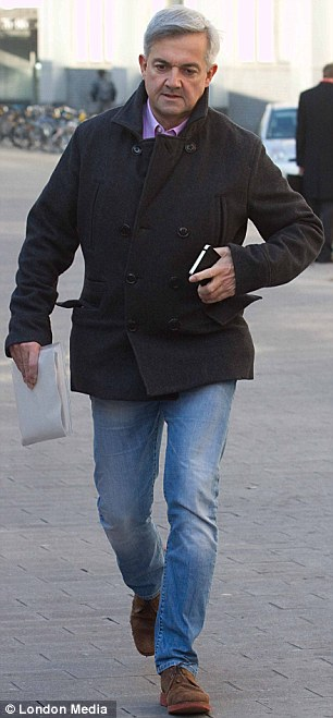 Delay: Disgraced former MP Chris Huhne, pictured yesterday, will have to wait to hear if he will be jailed until after the re-trial