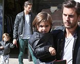 Scott Disick was the latest member of the Kardashian clan to show off a natty leather item - and now son Mason is following suit.