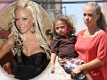 'Mama's swimming in the ocean': Former Playmate Kendra Wilkinson tells a little white lie after her son discovers a naked photo of the star