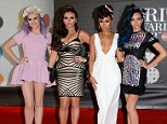 Little Mix opted for some more grown up clothes rather than their usual casual attire at the Brit Awards on Wednesday