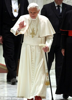 Vatican intrigue: The announcement last week by Pope Benedict XVI that he would step down at the end of the month has led to furious speculation about his successor
