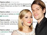 'Over the moon and beyond in love': Fearne Cotton and Jesse Wood welcome son Rex Rayne into the world