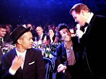 Pic Shows.. The 2013 Brit Awards