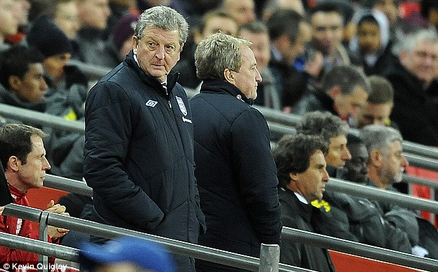 Decision maker: Roy Hodgson is the man in charge of England's bid to reach the 2014 World Cup in Brazil