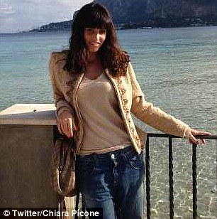 PSG's Argentine play-maker Javier Pastore's wife Chiara Picone