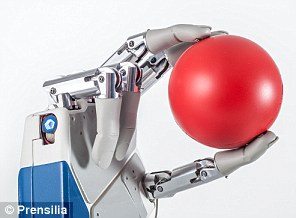 Feelings: The bionic hand is attached directly to the central nervous system