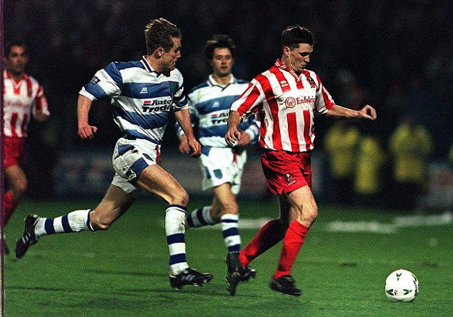 Cult hero: Parkinson spent 11 years at Reading