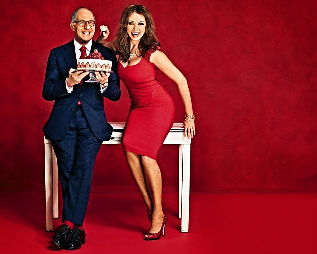Simon's new show will tickle more than your tastebuds host Carol Vorderman and judge Loyd Grossman promise