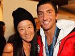 Vera Wang and Evan Lysacek