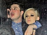 Time to head home: Carey Mulligan looks weary as she leaves the Universal post-Brits party with husband Marcus Mumford on Wednesday