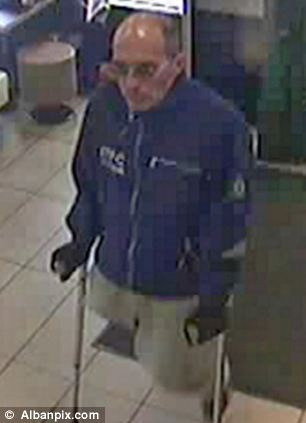 A man pictured on CCTV believed to be linked to the robbery at McDonalds in Ipswich, Suffolk, in November 2011