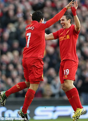 Who would you pick? Stewart Downing (right)