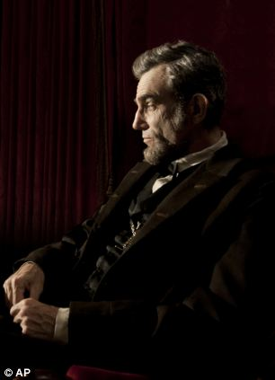Presidential: Daniel Day Lewis stars as the title role in the Disney blockbuster Lincoln