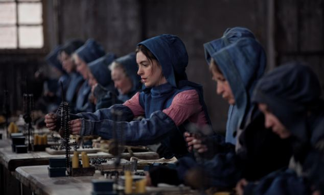Promotion: Universal, which is behind Les Miserables, starring Anne Hathaway (pictured) sent critics iPods