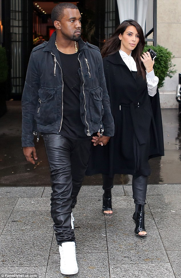 Private: According to Kim, Kanye has been teaching her a lot about privacy