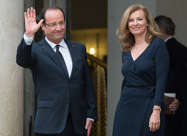 Leaders such as French President Francois Hollande, pictured with Valerie Trierweiler, may decide to bring their partners anyway.