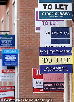 Room to rent: The lettings market is booming