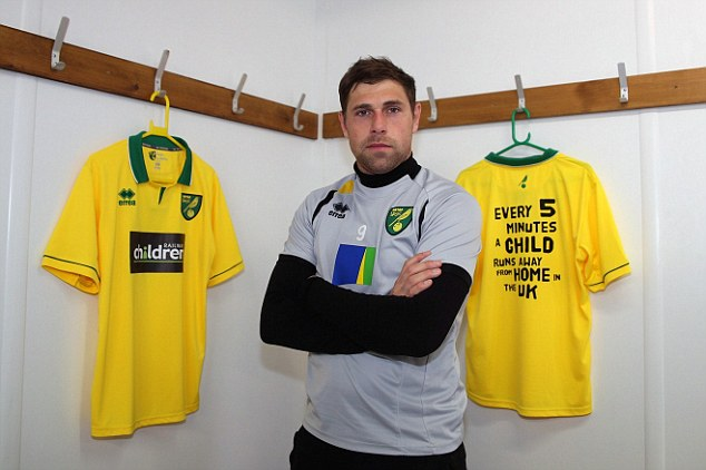 Goal drought: Hughton will be looking to Holt to fire Norwich to a win
