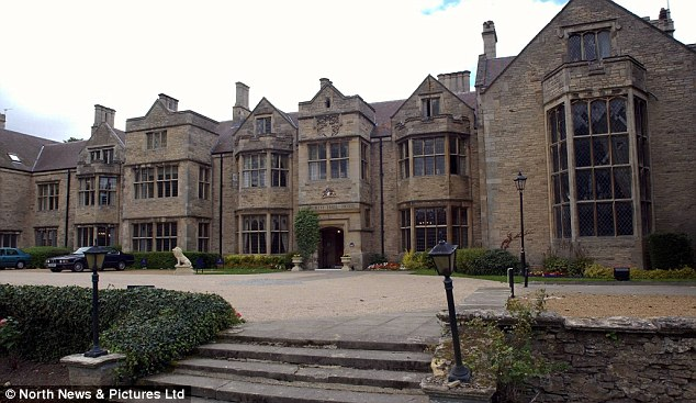 Wedding venue: Redworth Hall Hotel which catered for over a hundred guests