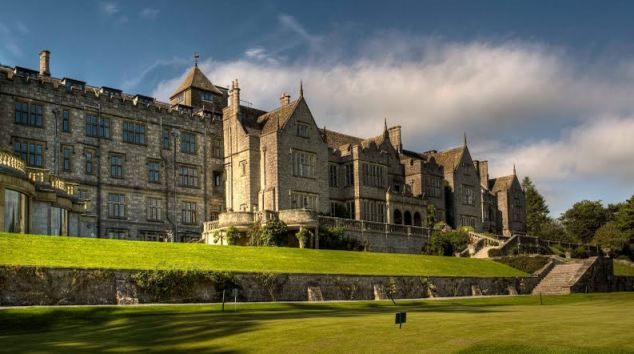 Hart spent £7,800 on staying at the Bovey Castle hotel in Dartmoor, Devon