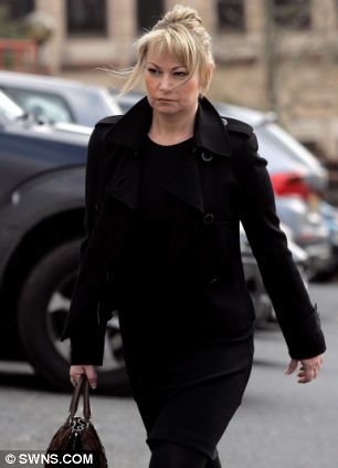 Helen Hart arrives at Truro Crown Court in Cornwall, Premier League football tickets