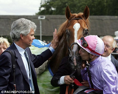Loyal supporter: Trainer Hughie Morrison (left) is likely to help Drowne
