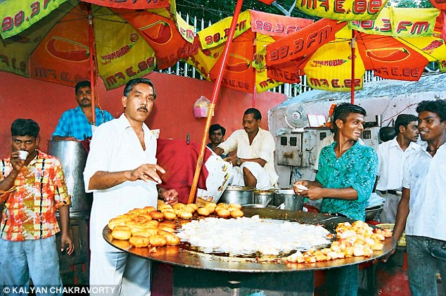 Taking a risk: The majority of those surveyed said they eat street food despite its health issues