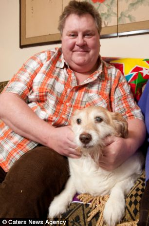 Daisy was rescued by Mark Barsby-Finch in 1993 when she was two years old