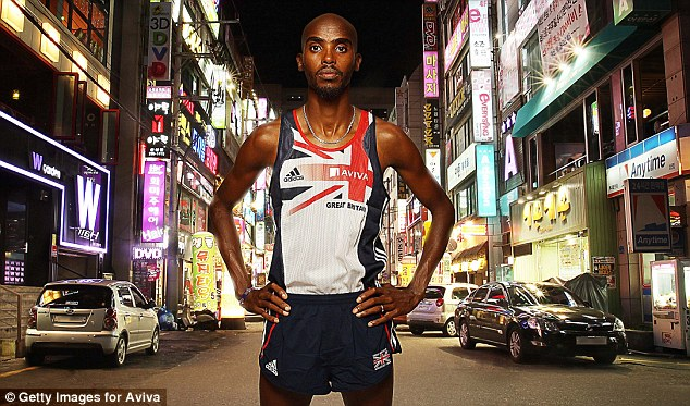 First home: Mo Farah is stepping up his plans for next year's full London Marathon