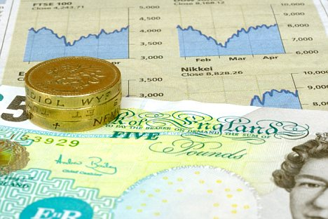 The pound faces a rough ride this week after the UK was downgraded by Moody's late on Friday.