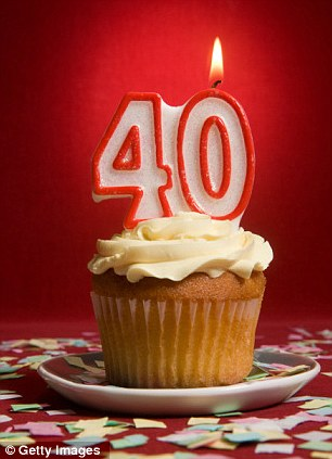 The big 40: Since I turned 40 last June, I've started to go grey very quickly. I have thread veins on my legs and chilblains on my big toe