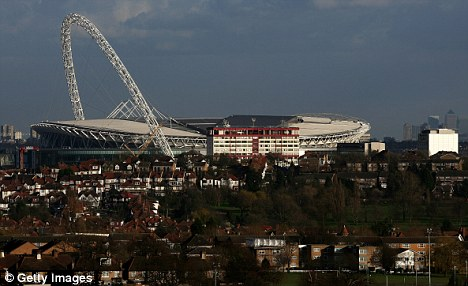 Conflict: Rugby World Cup organisers want to host games at Wembley