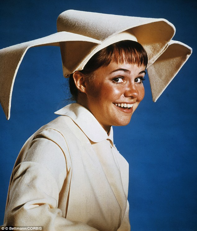 The original nun: The 66-year-old acting legend was only 20 when she starred in the light-hearted series in 1967