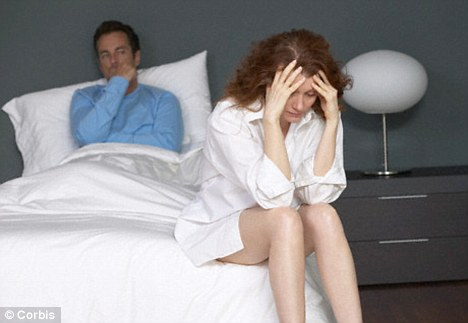 Nearly 20 per cent of couples said the stress of not being able to conceive had placed their relationship under strain