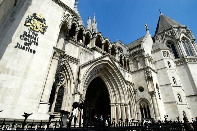 Court hearing: The High Court ruling upheld an earlier court decision and rejected an appeal from a number of groups including the English Defence League and Britain First
