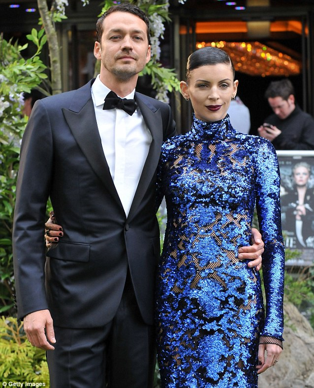 The ex: Director Rupert Sanders and Liberty Ross  attend the World Premiere of Snow White And The Huntsman at The Empire in London last May