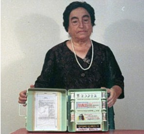 Pioneer: Ángela Ruiz Robles invented her Mechanical Encyclopedia in 1949 - some half a century before the Kindles, Kobos and Nooks literature lovers enjoy today