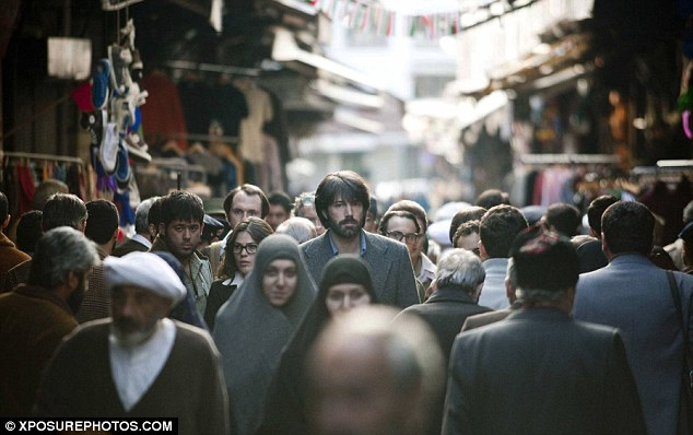Argo tells the story of how 6 American diplomats were rescued from the occupied U.S. Embassy during the 1979 revolution