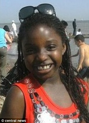 Regina Say (pictured), 8, was murdered by her father Jean Say