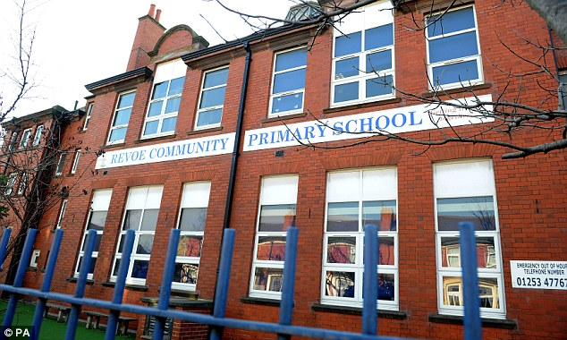 School: Blackpool Council informed parents about what had happened in a letter sent out yesterday