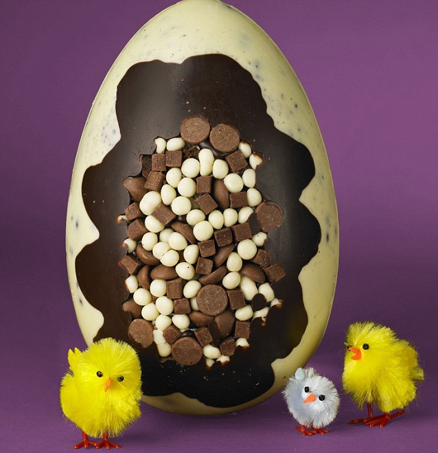 The Chocablok American Dreamcake egg costs a bargain £5 and has been named as the winner of the annual Good Housekeeping Easter Egg of the Year