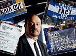 Chelsea banners amnesty leaves Rafa Benitez exposed - Neil Ashton