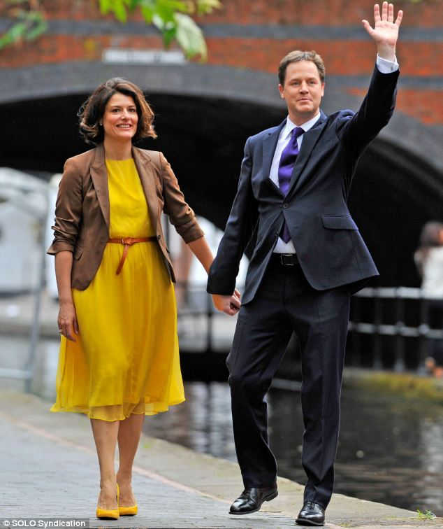 Nick Clegg and wife Miriam have viewed several schools and have refused to make their choice based on 'political reasons'
