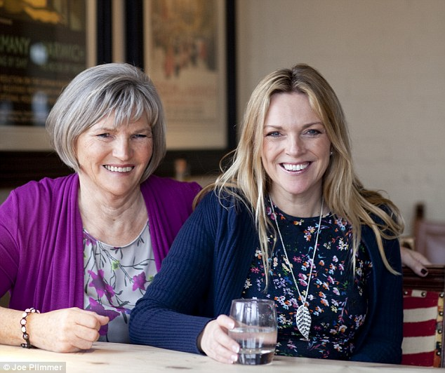 Helen and her mother Ann today.