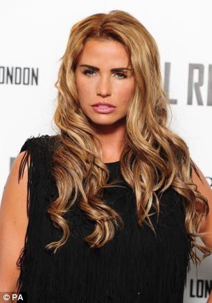 Katie Price today condemned Mr Brewer's comments saying 'many disabled [people] contribute more to society than Mr Brewer'
