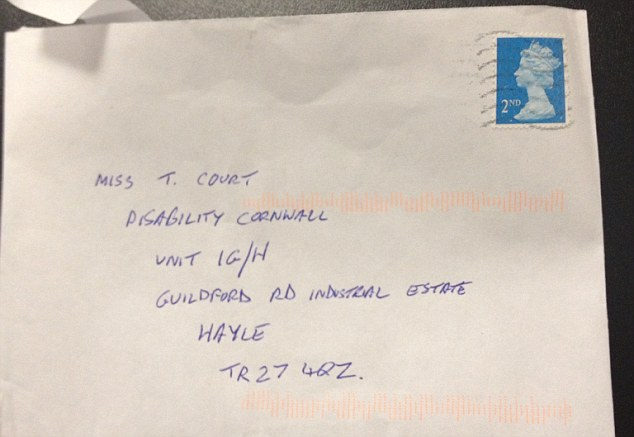 Theresa Court, who Mr Brewer made the comment to, said she was unhappy with the apology which 'might as well have been screwed up' and came in an envelope with a second class stamp