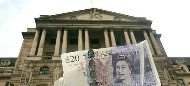 Mixed blessings: A sub-zero interest rate could drive down the cost of mortgages for millions of borrowers - although it is highly unlikely that mortgage rates would also turn negative
