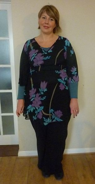 She started the Cambridge Weight Plan in January 2012 when she weighed 23 stone and today she is a size 12 and has hit her goal weight of 13 stone