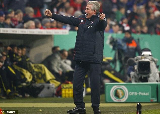 Final flourish: Bayern boss Heynckes is in his final season in charge of the club