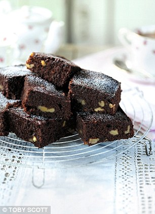 Phyliss Logan's chocolate brownies